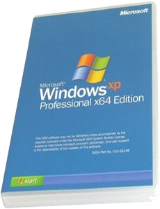 Windows XP Professional Edition SP3 (x64)
